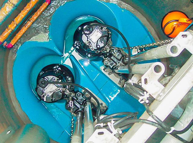 汚水ポンプ槽工事